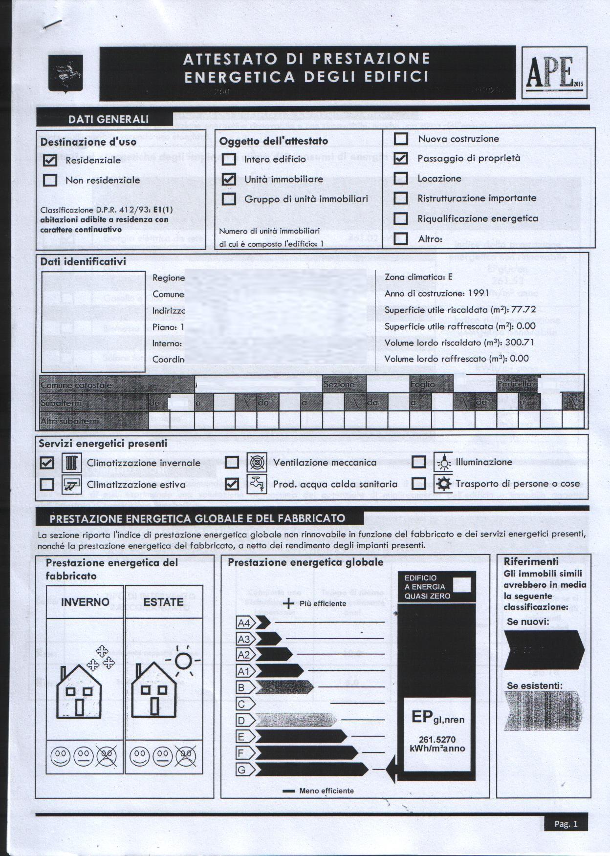 Planimetria 4/4 per rif. 8166