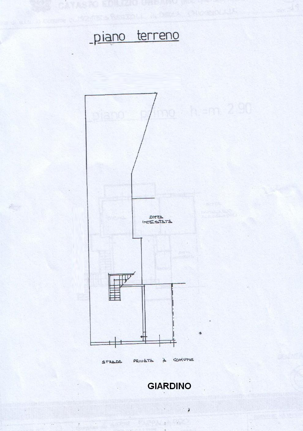 Planimetria 2/4 per rif. 8166
