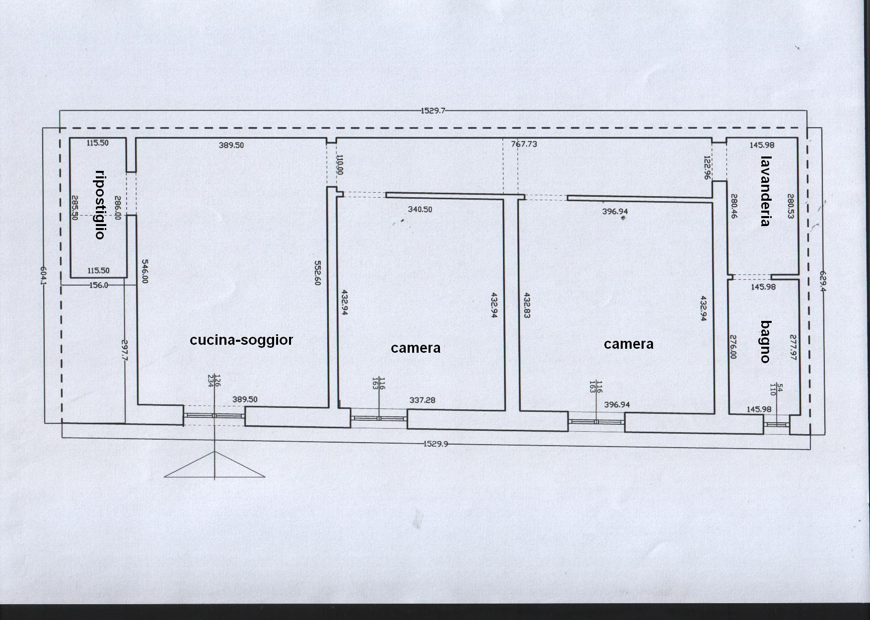 Planimetria 1/1 per rif. 8221