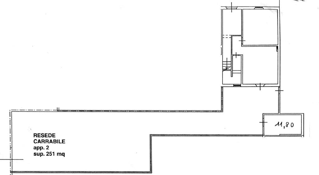Planimetria 2/3 per rif. 7664-02