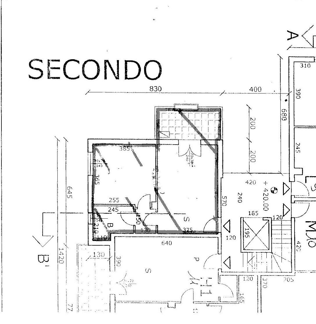 Planimetria 2/5 per rif. 8263