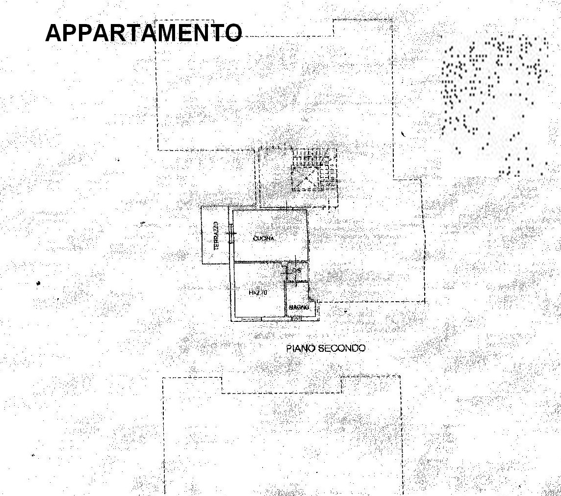 Planimetria 4/5 per rif. 8263