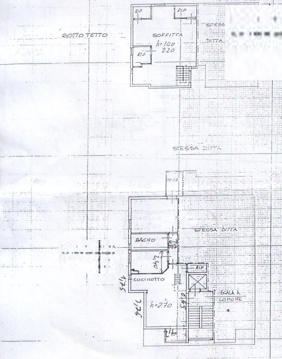 Planimetria 2/2 per rif. 8199