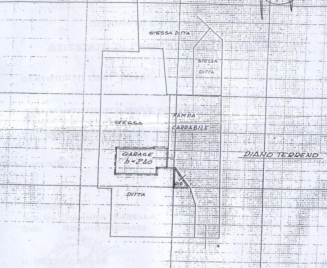Planimetria 1/2 per rif. 8199