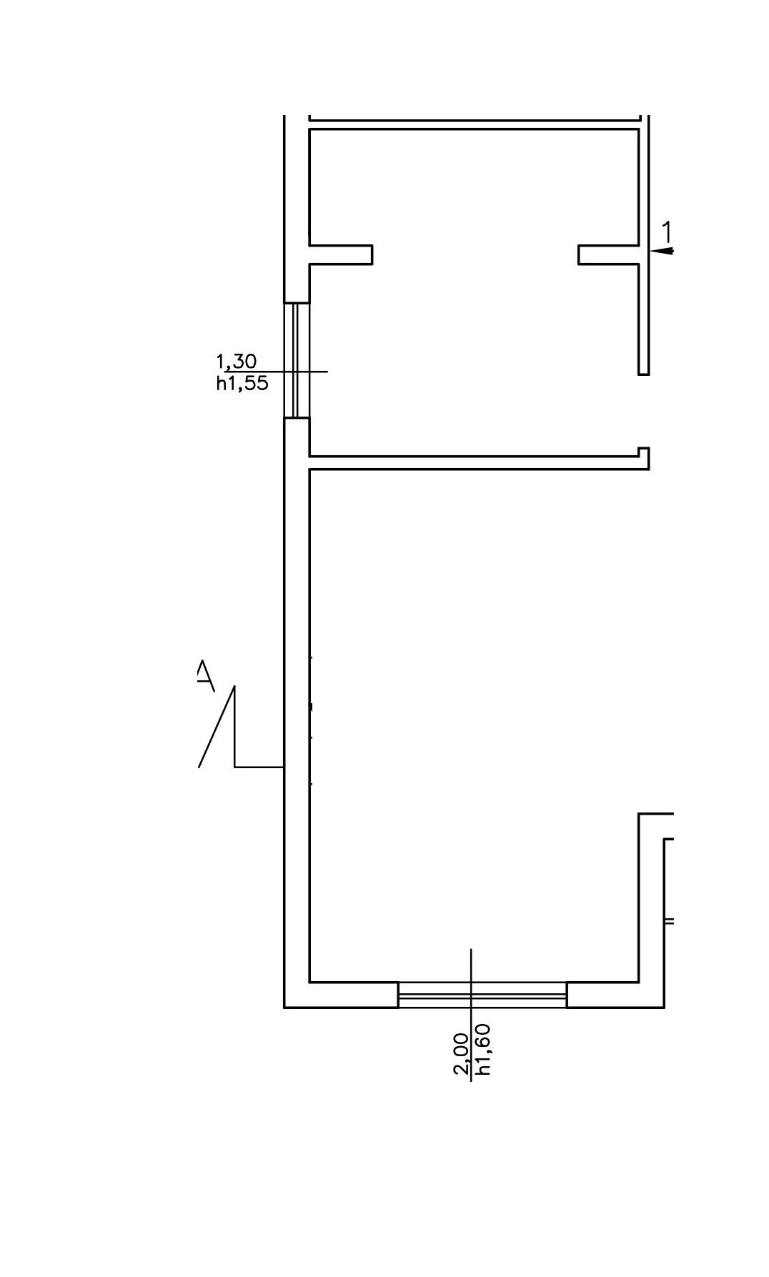 Planimetria 1/2 per rif. 8549