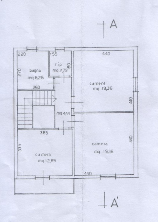 Planimetria 2/5 per rif. 6709