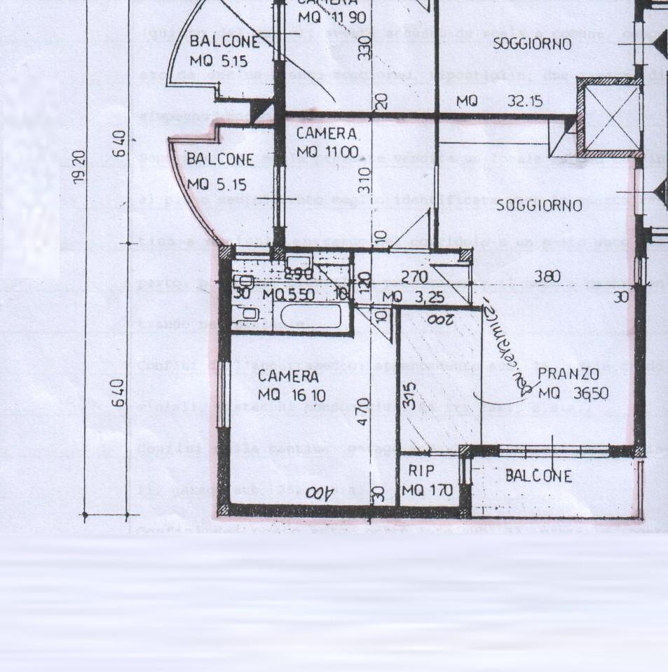 Planimetria 2/2 per rif. 8334 - 02