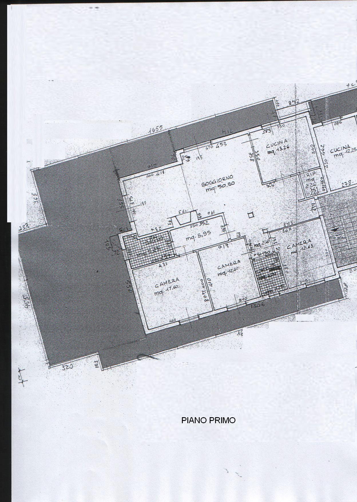 Planimetria 1/3 per rif. 8347