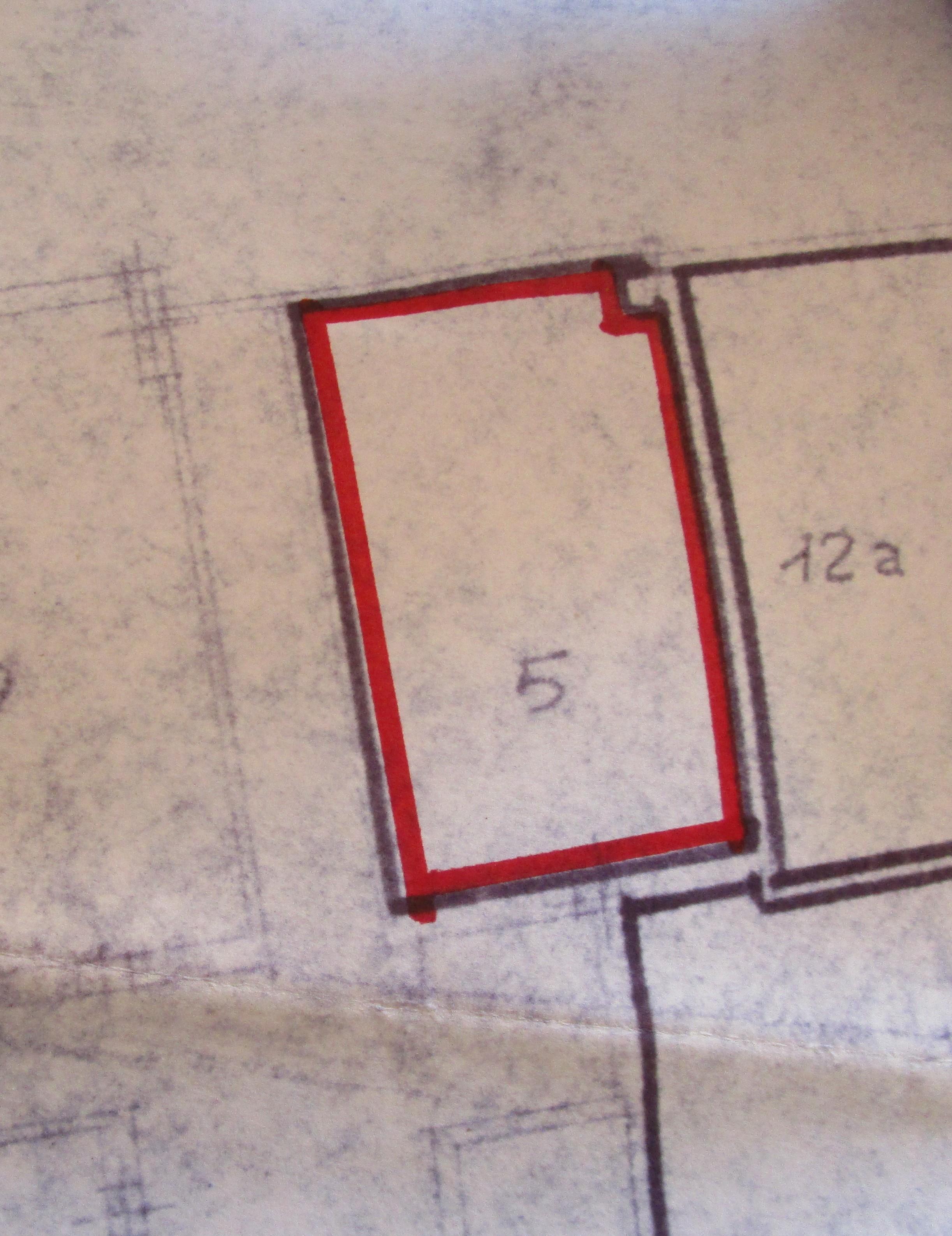 Planimetria 3/3 per rif. 8347