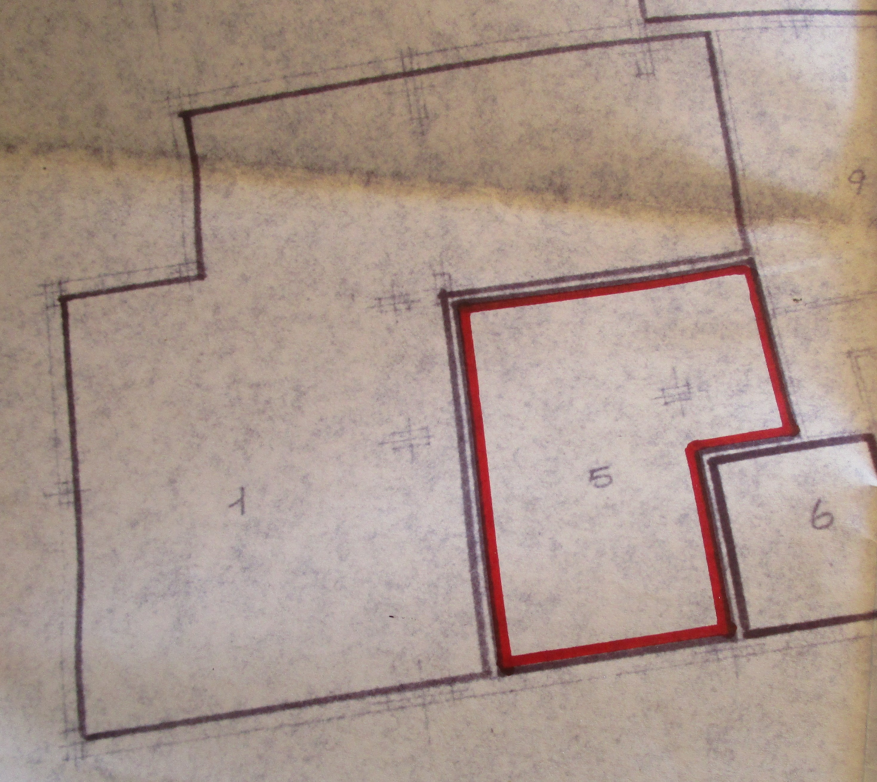 Planimetria 2/3 per rif. 8347