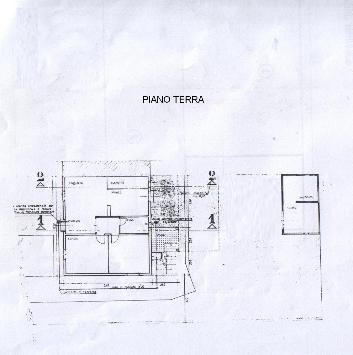 Planimetria 2/2 per rif. 5868