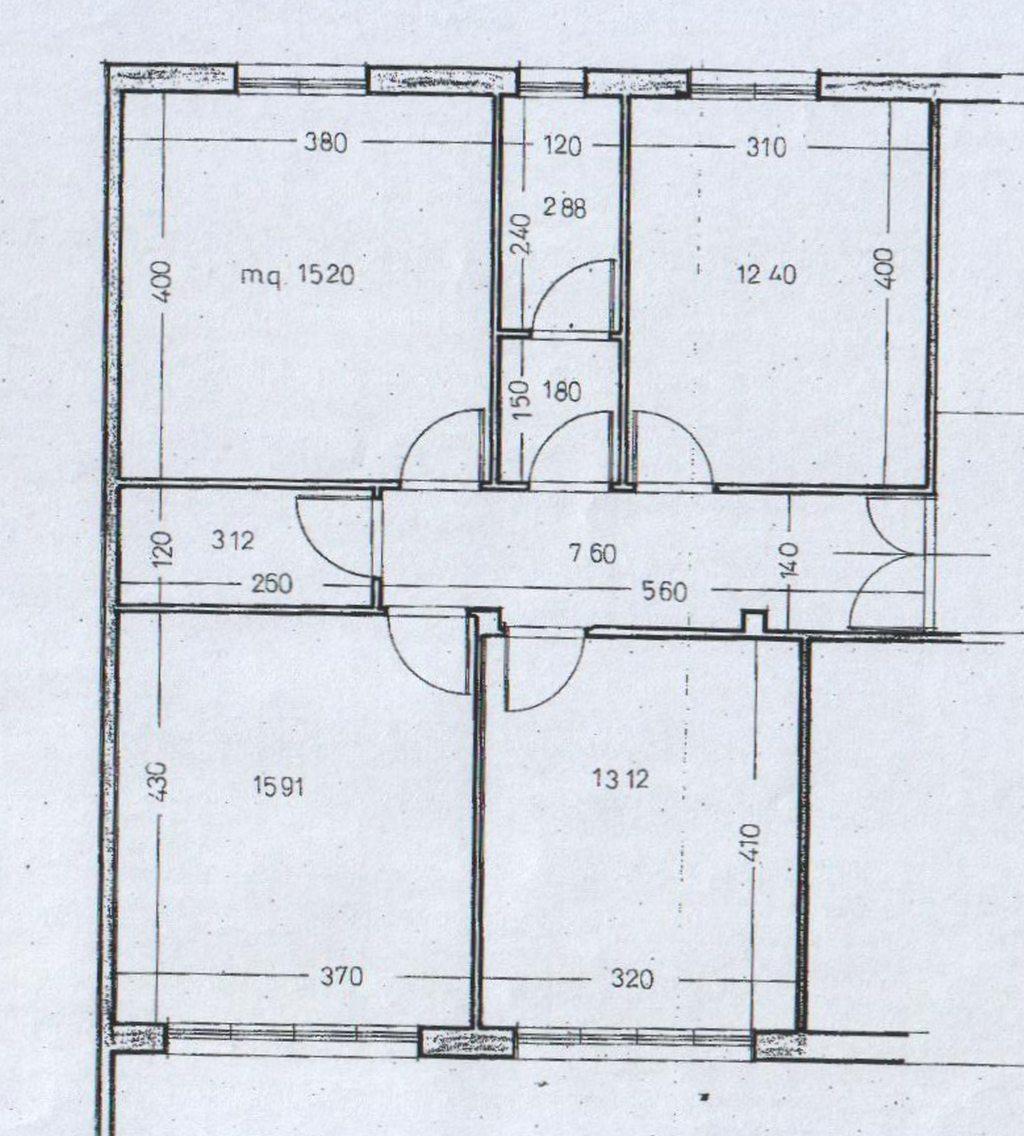 Planimetria 1/2 per rif. 7907-02