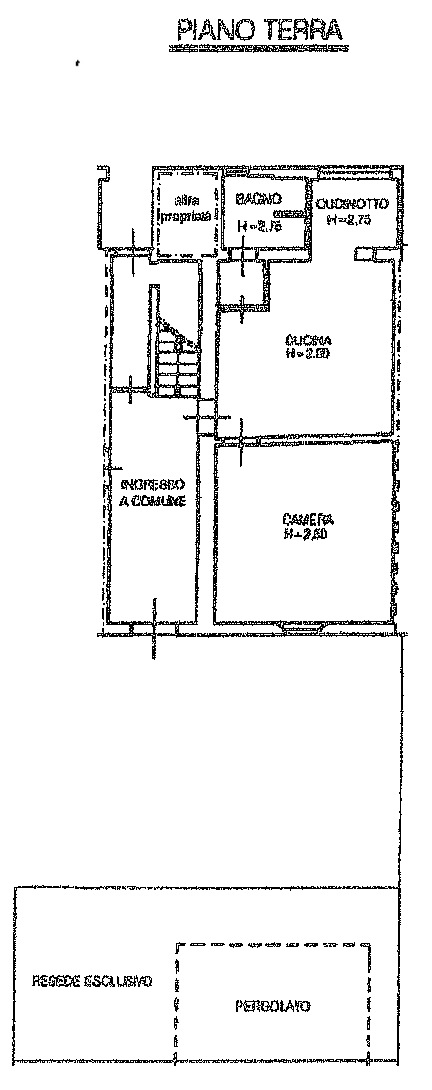 Planimetria 1/2 per rif. 8361-03