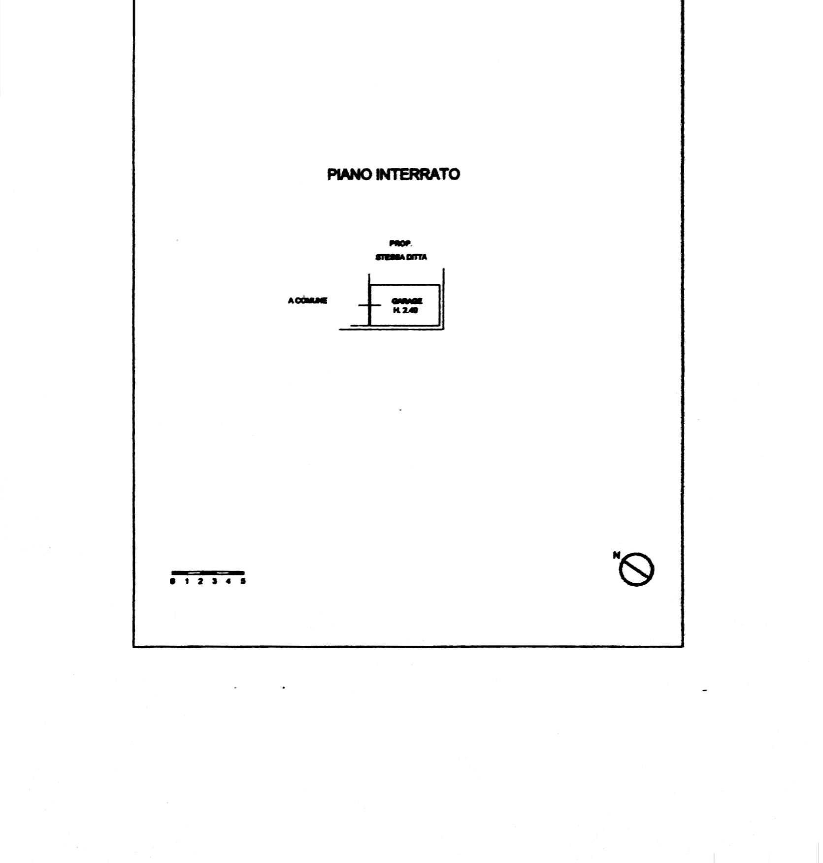 Planimetria 3/6 per rif. 8378