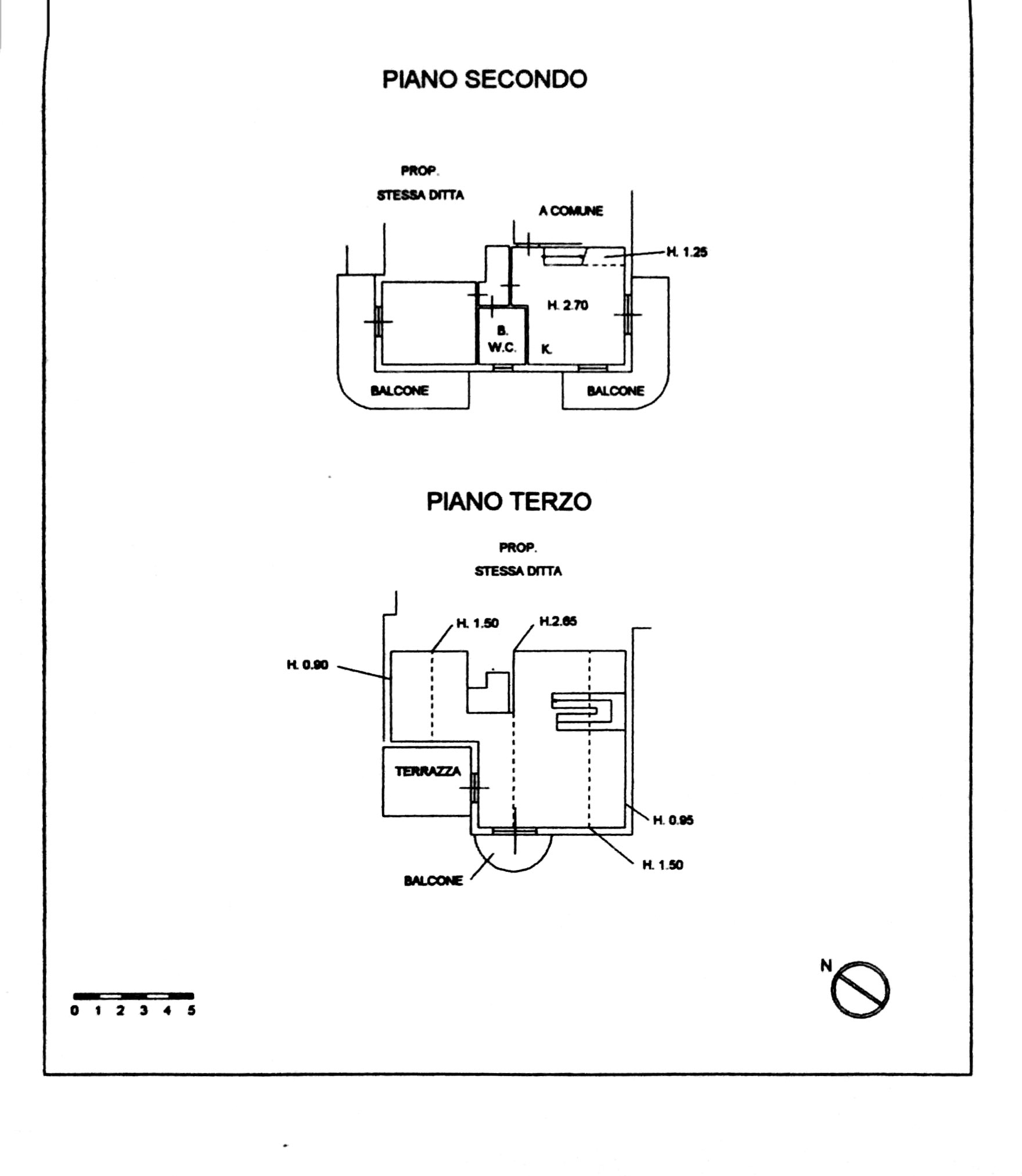 Planimetria 6/6 per rif. 8378