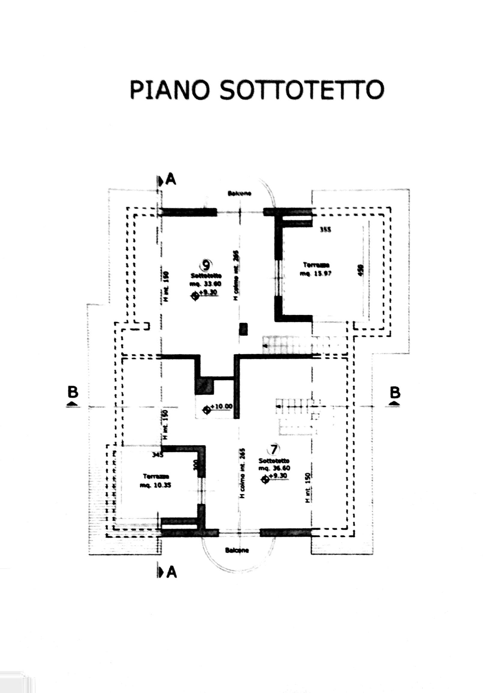 Planimetria 2/6 per rif. 8378