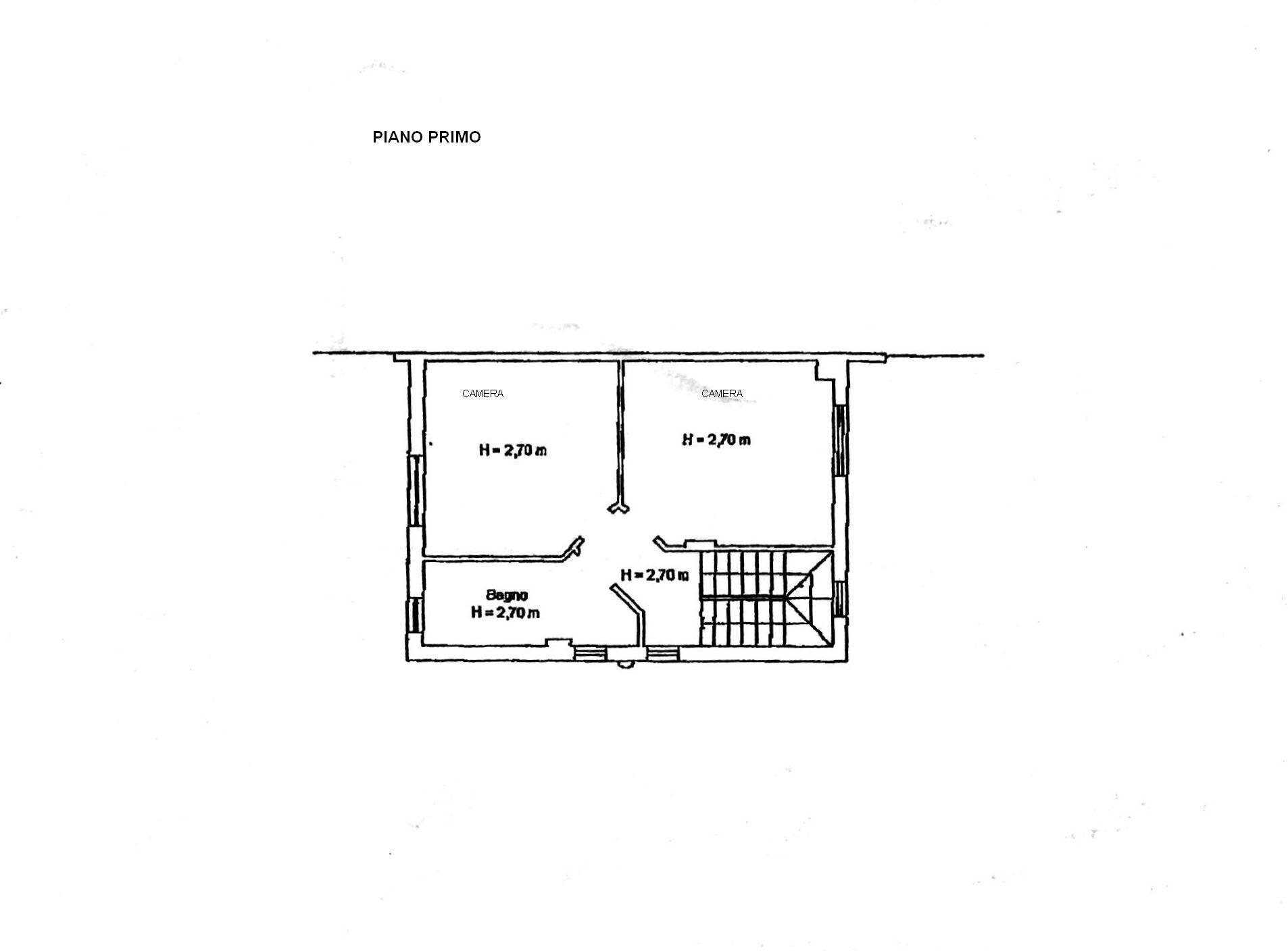 Planimetria 1/3 per rif. 8384