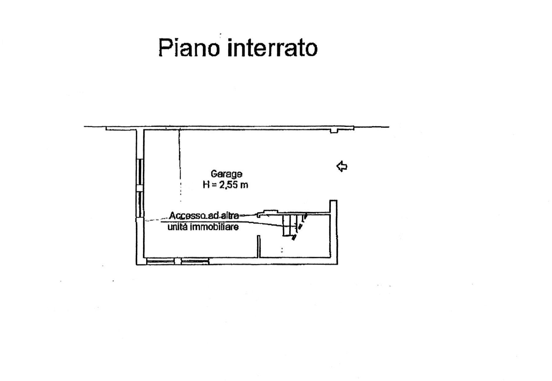 Planimetria 2/3 per rif. 8384