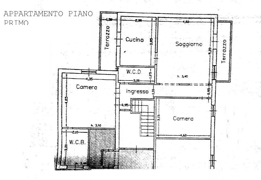 Planimetria 1/1 per rif. 8393