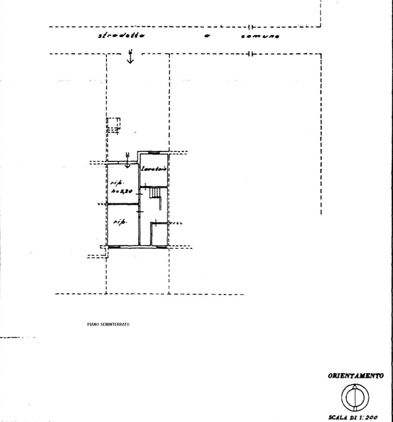 Planimetria 2/2 per rif. 8416