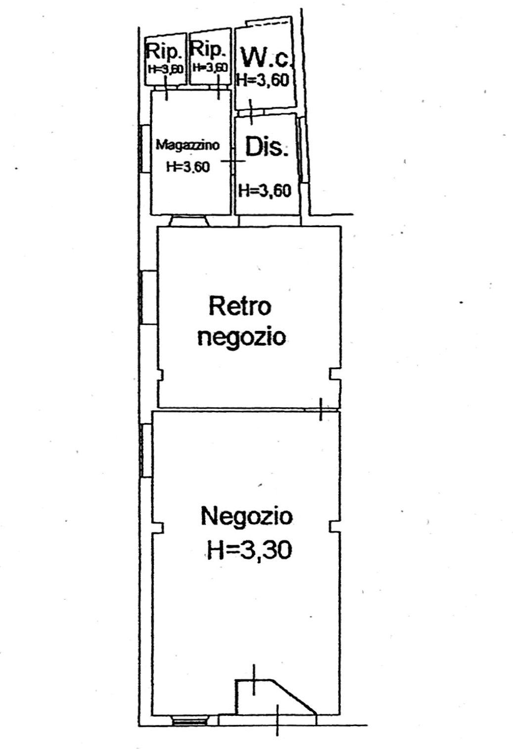 Planimetria 1/1 per rif. 570
