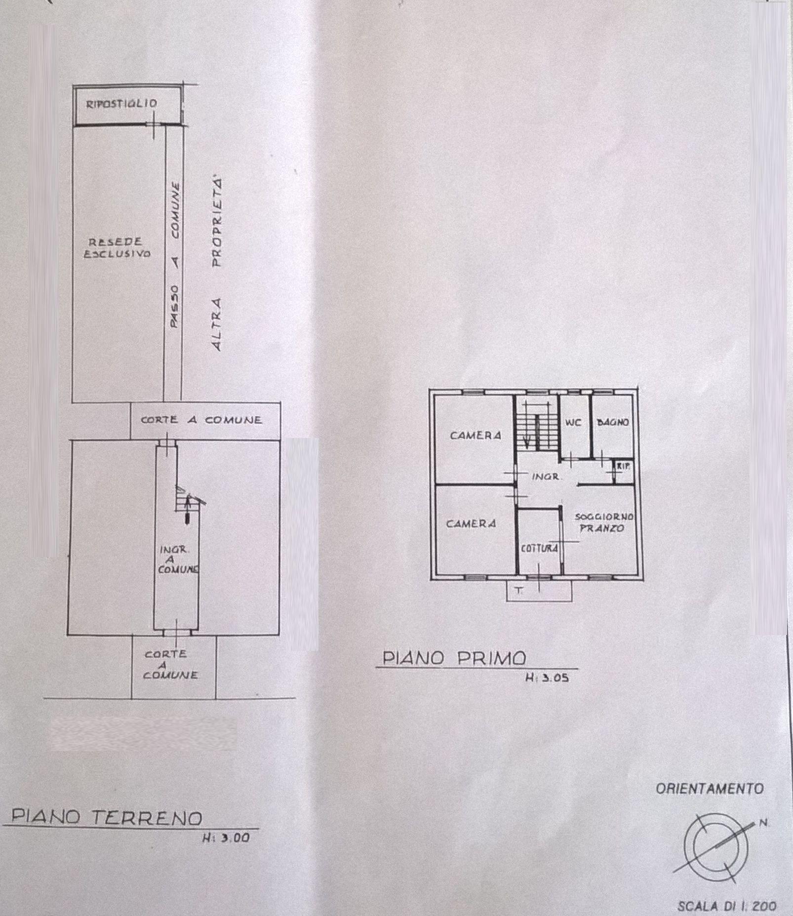 Planimetria 1/2 per rif. 8424