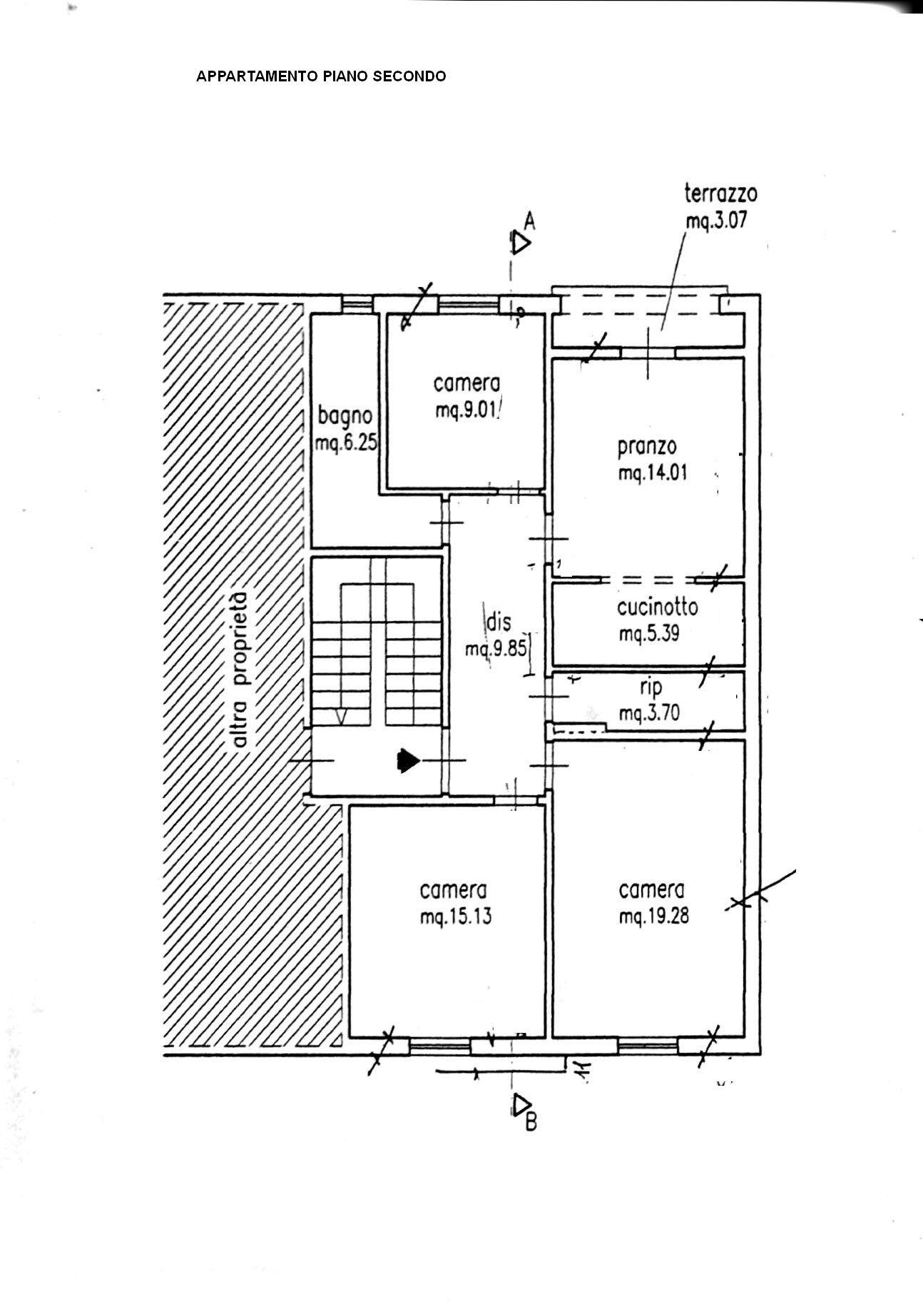 Planimetria 1/1 per rif. 8428