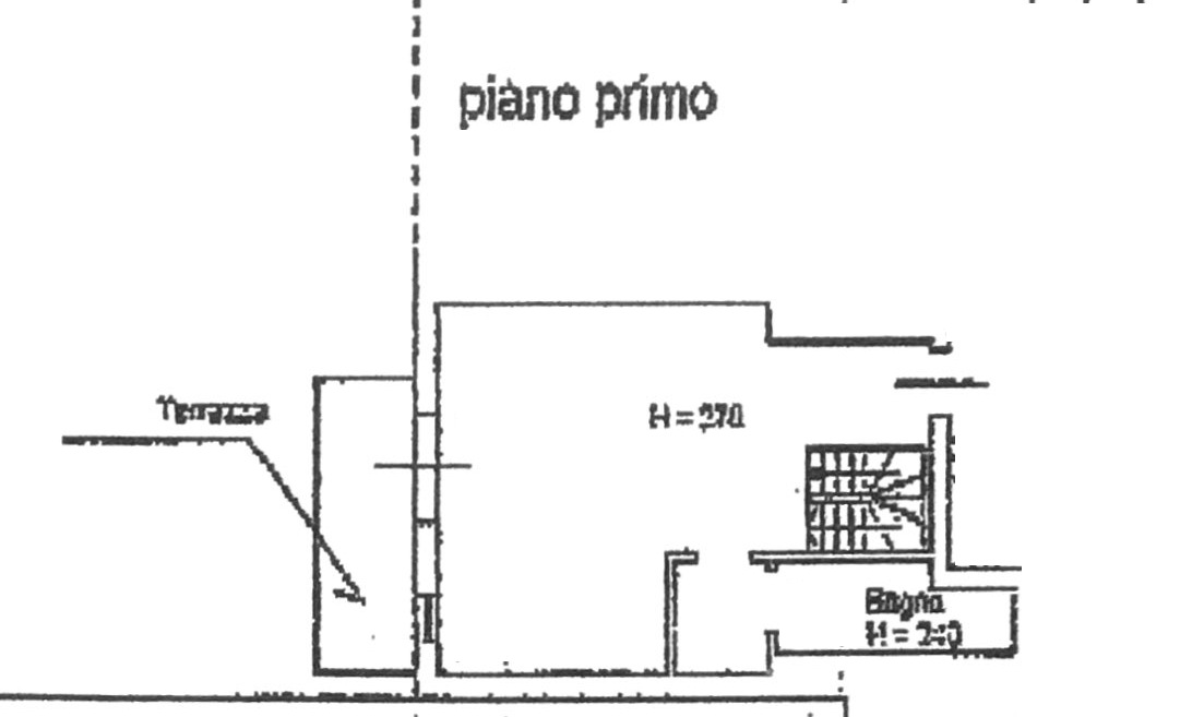 Planimetria 1/3 per rif. 8462