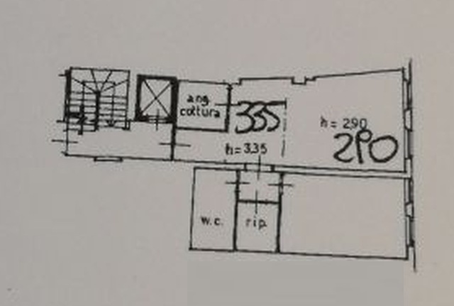 Planimetria 1/2 per rif. 6383