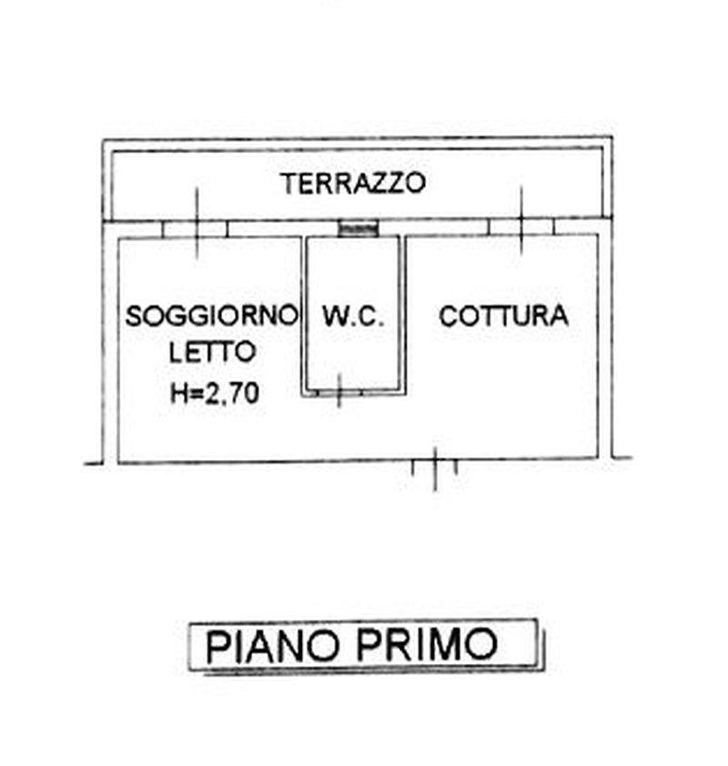 Planimetria 1/2 per rif. 8473