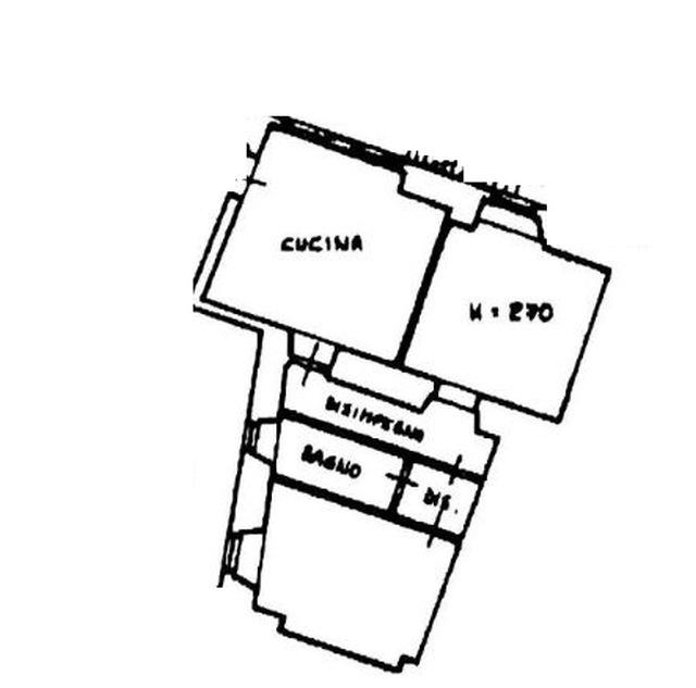 Planimetria 1/3 per rif. 8474