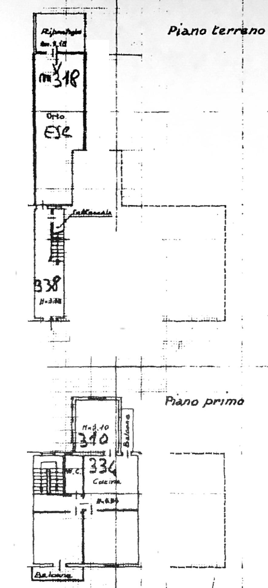 Planimetria 1/1 per rif. 8498