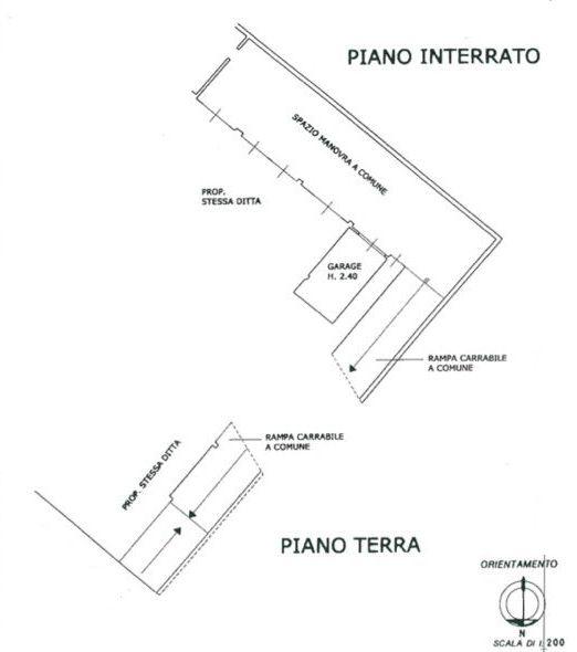 Planimetria 2/3 per rif. 8530