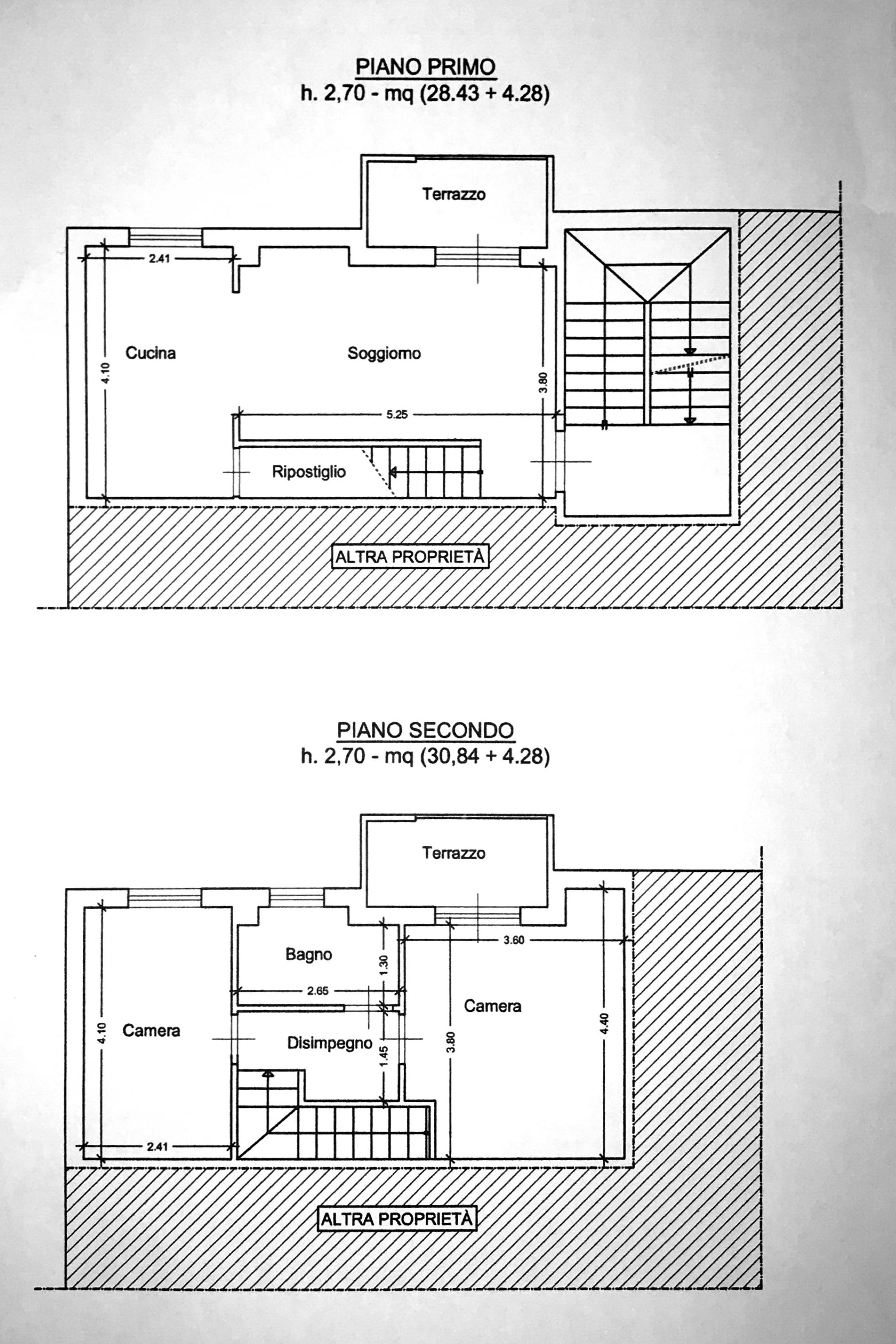 Planimetria 1/1 per rif. 8533