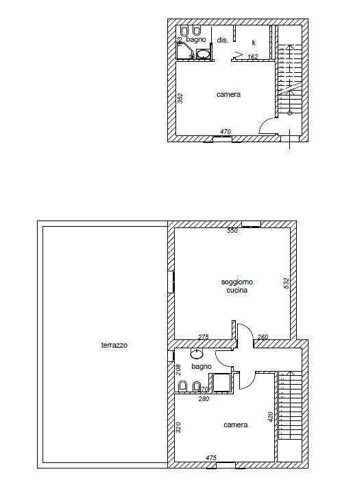 Planimetria 1/2 per rif. 8556