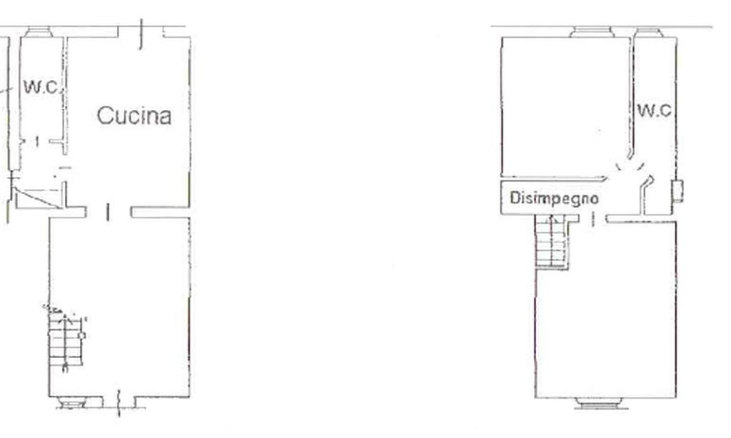 Planimetria 1/2 per rif. 8558-02
