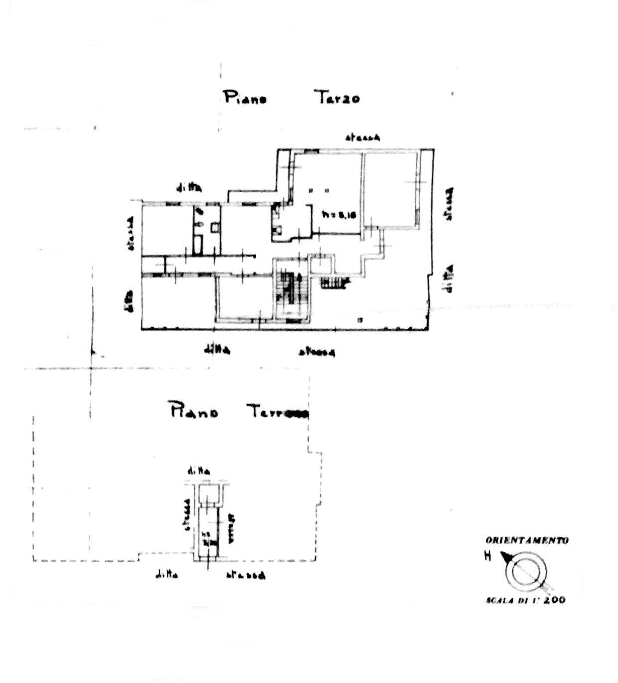 Planimetria 1/4 per rif. 8559