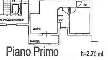 Planimetria 2/2 per rif. 3784-02