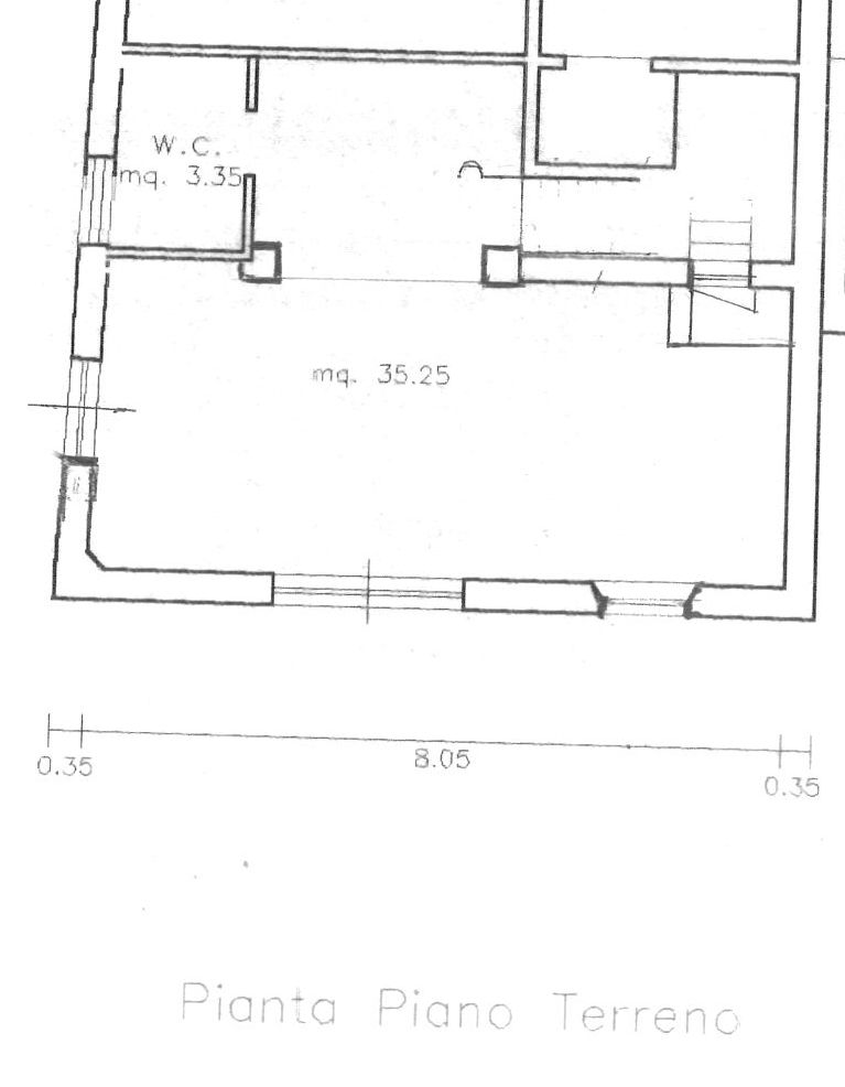 Planimetria 1/2 per rif. 8564-02