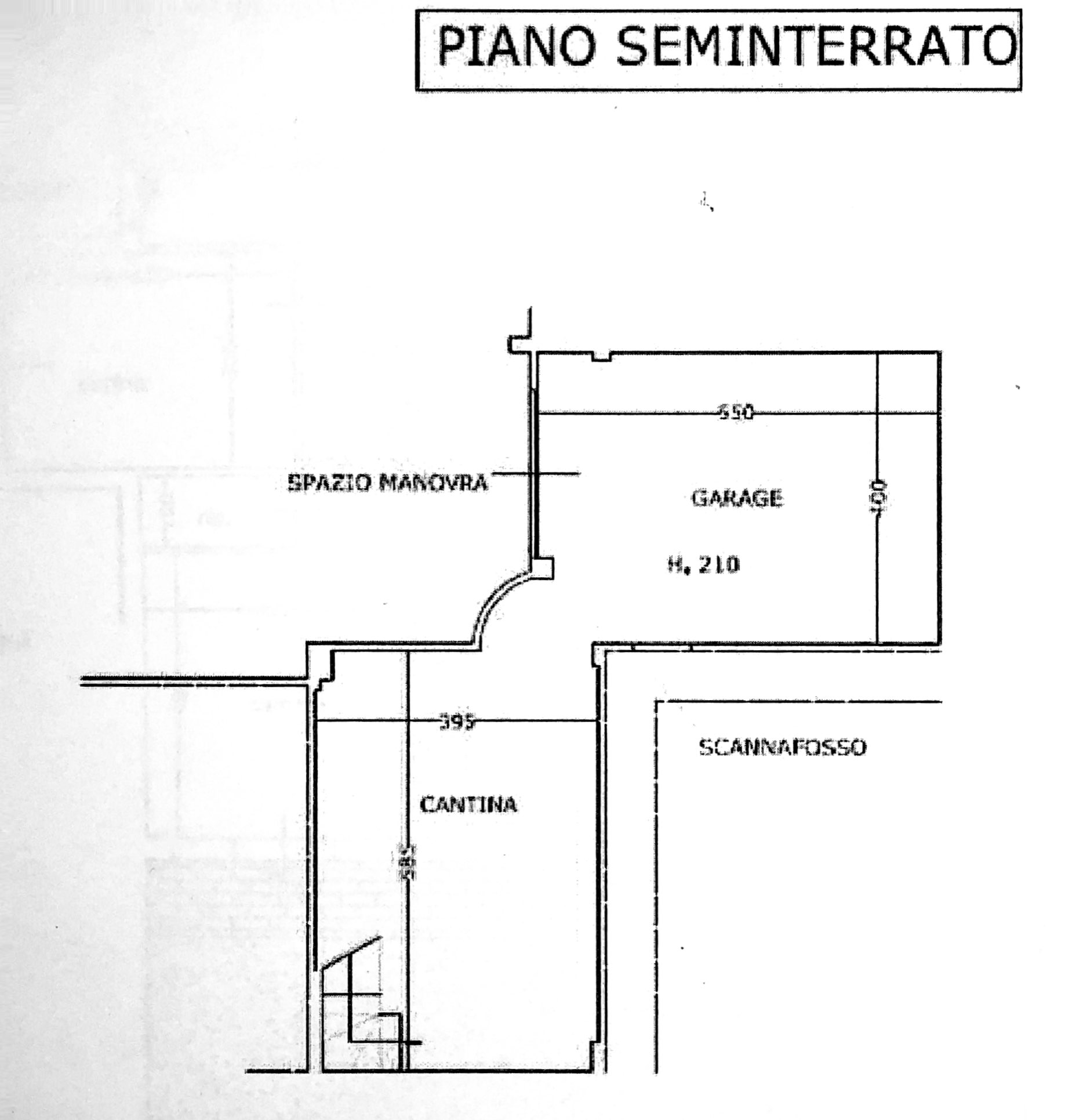 Planimetria 2/2 per rif. 8567