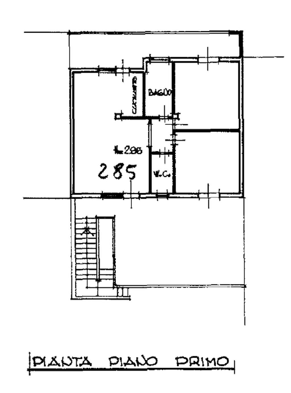 Planimetria 1/2 per rif. 8570-02