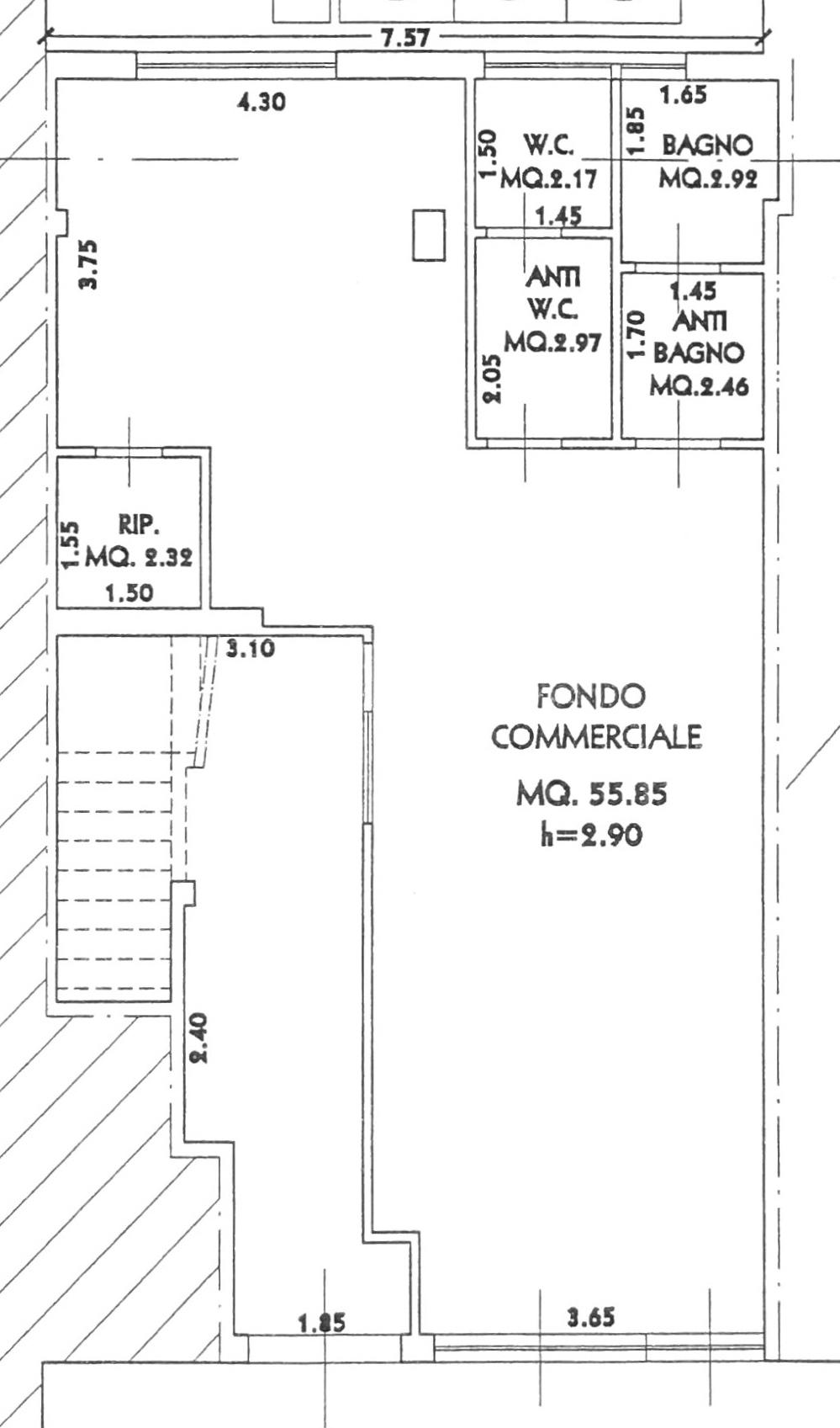 Planimetria 1/2 per rif. 577