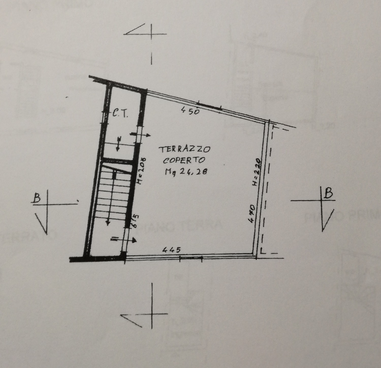 Planimetria 3/4 per rif. 8561