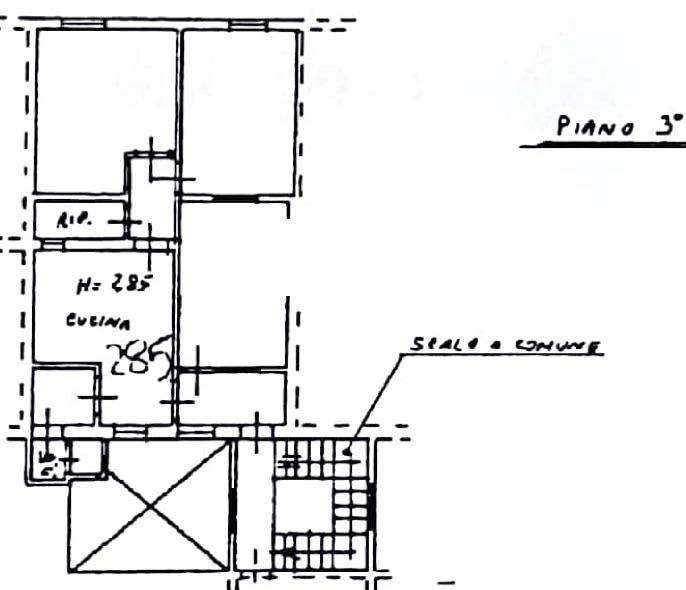 Planimetria 1/2 per rif. 8588