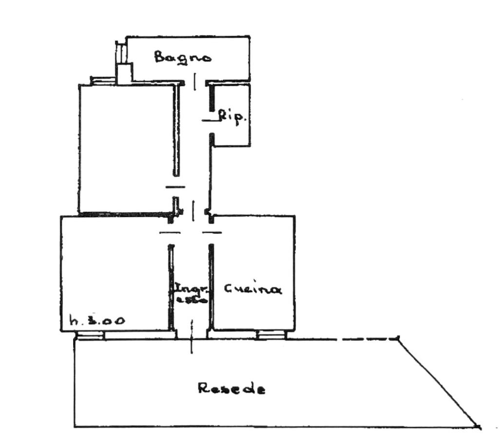 Planimetria 1/2 per rif. 8041