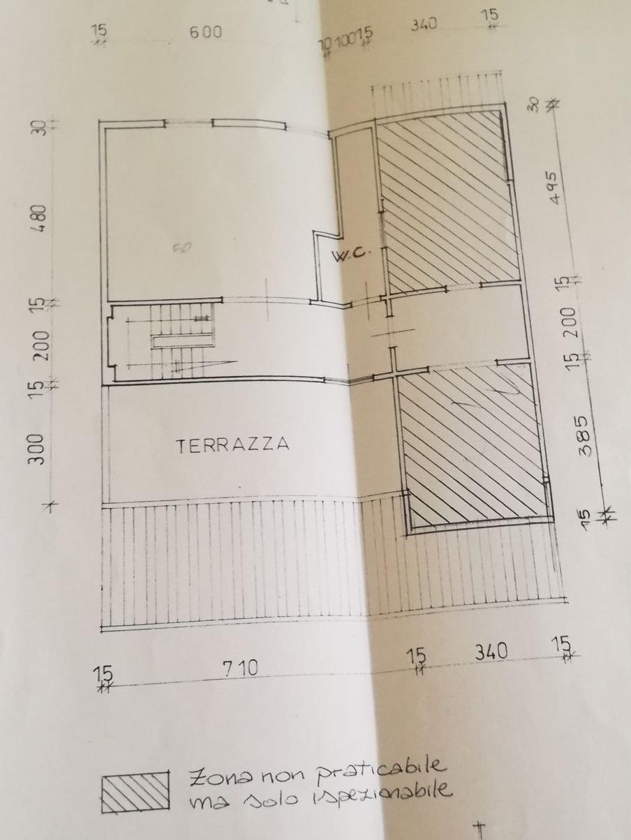 Planimetria 3/3 per rif. 8598