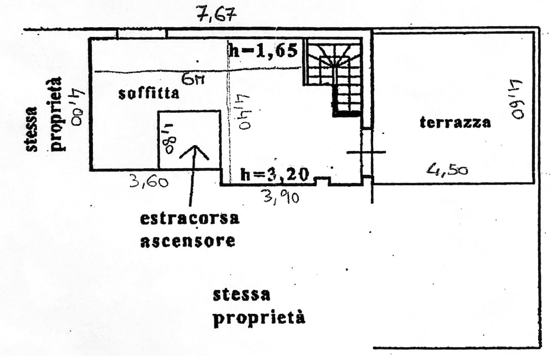 Planimetria 2/4 per rif. 8615
