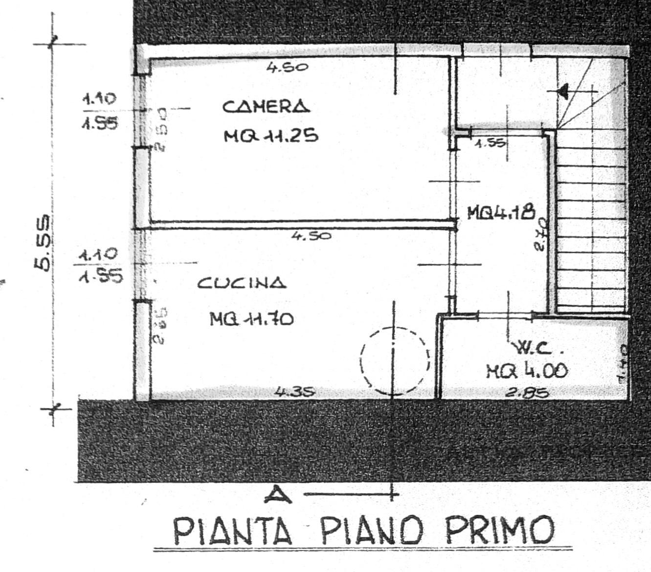 Planimetria 2/3 per rif. 8531