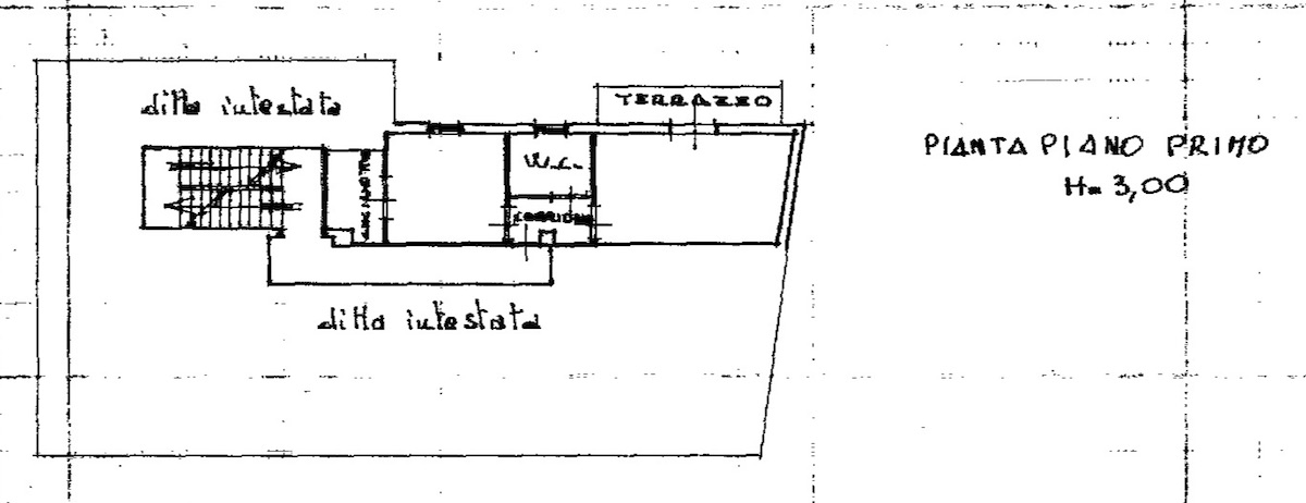 Planimetria 1/2 per rif. 8625