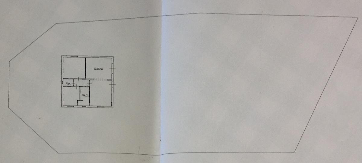 Planimetria 1/2 per rif. 8617